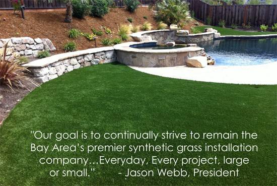 Image of Synthetic Grass, Lawns in Moraga